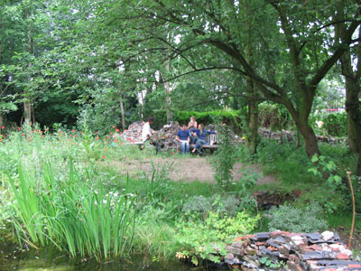 bijpraten in de Vergeten Tuin